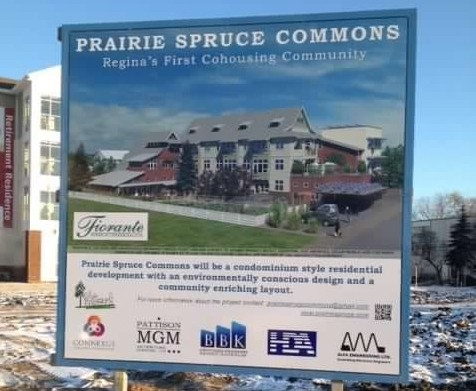 Sign for Prairie Spruce Site