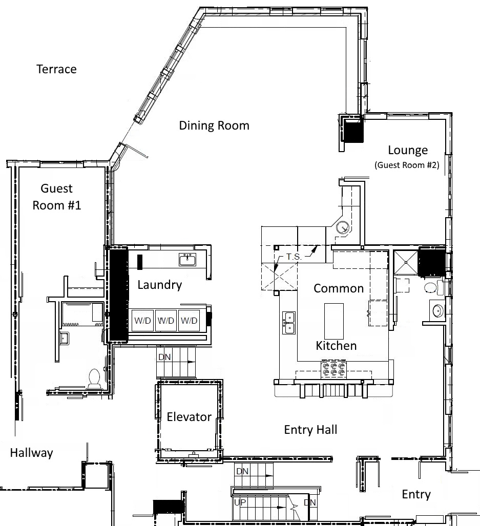 Common house features shared spaces prairie spruce commons for Common house plans