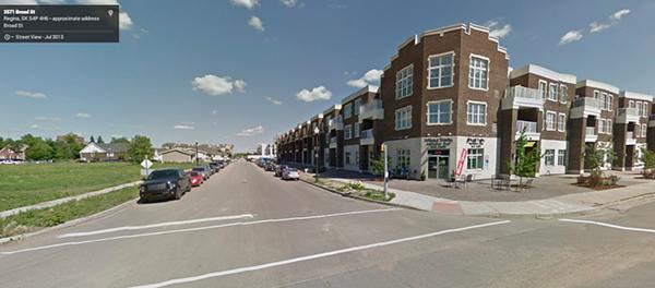 Badham Boulevard, Regina, Saskatchewan