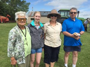 Prairie Spruce Support Team - Vickie, Claire, Laurie, and Murray