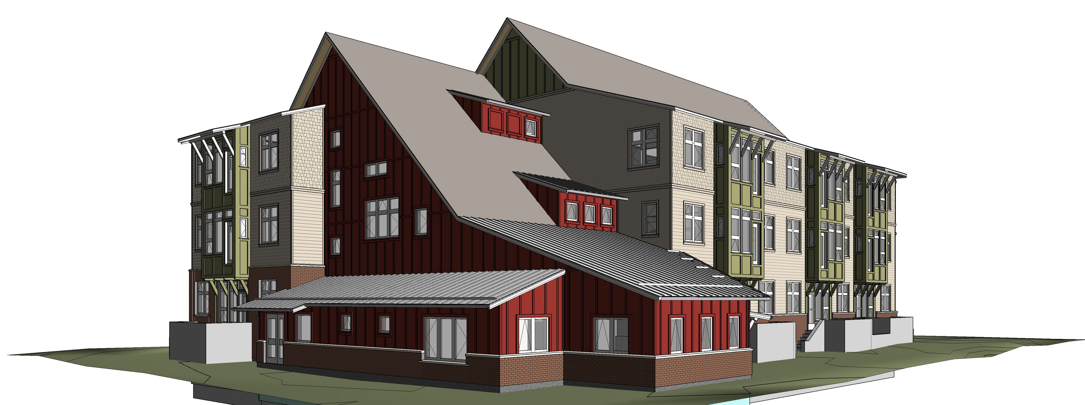 Prairie Spruce Commons Cohousing Building