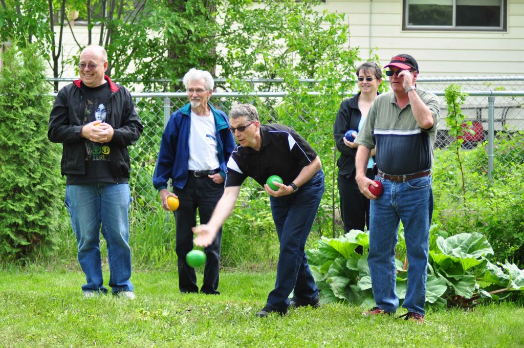 The Prairie Spruce Lawn Bowling Team